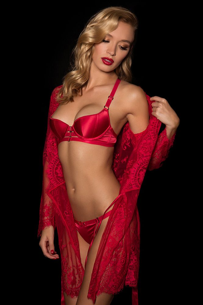 Beautiful sexy models wearing a joyful mix of lingerie styles - corsets, basques, bustiers, teddies,...