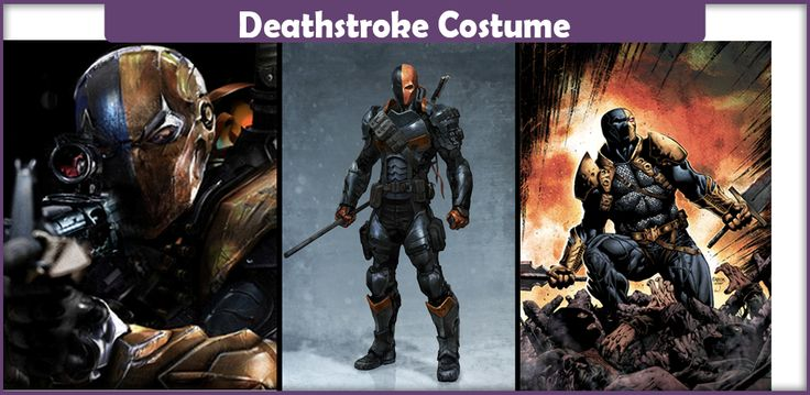 The best guide on making a Deathstroke costume from DC Comics. Here you will find a list of everything you will need to make an accurate costume.