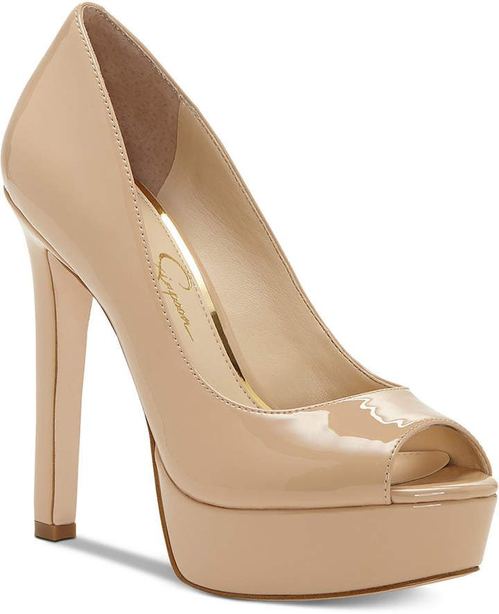 ab1fb1d3bb6 Jessica Simpson Bellena Peep Toe Platform Pumps Women s Shoes   highheelspumps  pumps  jessicasimpsonpumps  sponsored