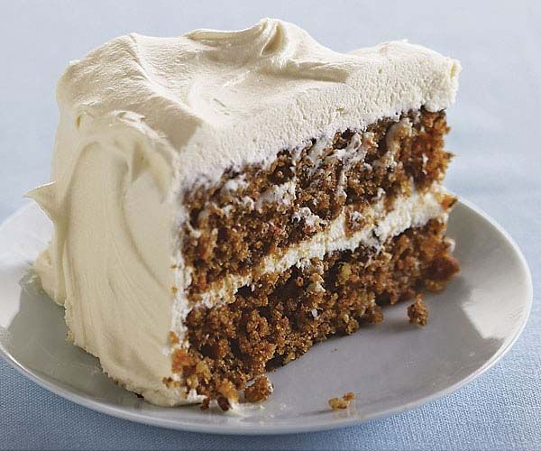 Classic Carrot Layer Cake with Vanilla Cream Cheese Frosting recipe