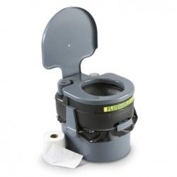 The ultimate prepper potty! I would like to get one of these for camping and emergencies situations.