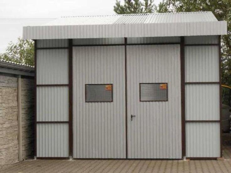 Fertiggarage blech  Garage aus Blech #Fertiggarage #Stahlhalle 5m x 8 m x 3,30m inkl ...