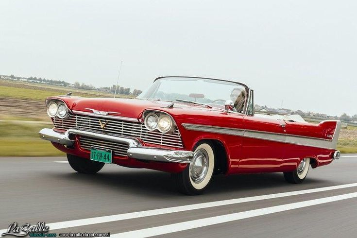 LaSalle Classic Cars | Collection | 1958 Plymouth Belvedere Convertible, € 89….