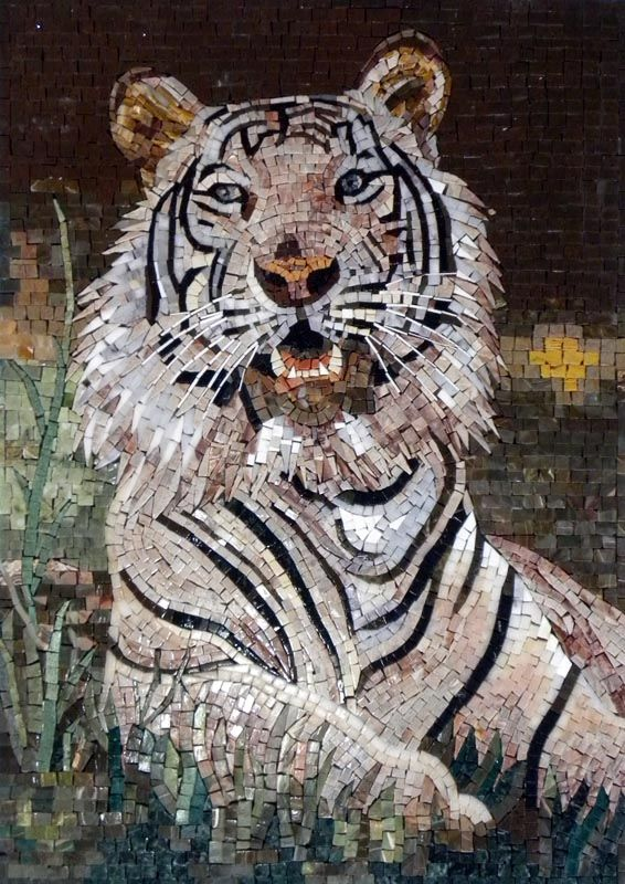 Tiger MOSAIC By Phoenician Arts Via Flickr