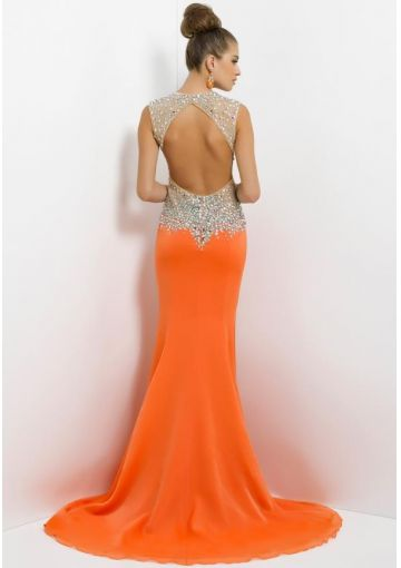 445 besten Orange \'Oracle\' Gowns Bilder auf Pinterest | Abendkleid ...