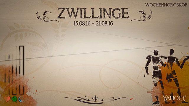 Wochenhoroskop: Zwilling (KW 33 - 2016) - So stehen deine Sterne Kinder Wochen vom 15. - 21.8.2016 #Horoskop #Zwilling #Liebe #Gesundheit #Job