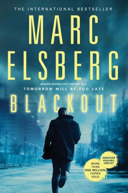 """Blackout by Marc Elsberg (June 2017)  """"Part Dan-Brown-style chase and part eco-thriller, this debut & best-seller in Germany will get people talking.""""  --Booklist"""