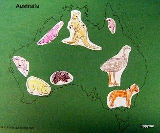 Tippytoe Crafts: australia