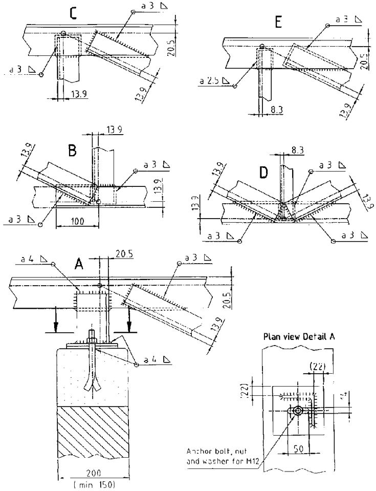 Roof Truss Guide   Design And Construction Of Standard Timber And Steel  Trusses (BASIN