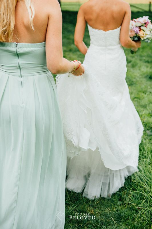 Bridesmaid dresses - Photo credit: You Are Beloved (http://www.youarebeloved.nl/)