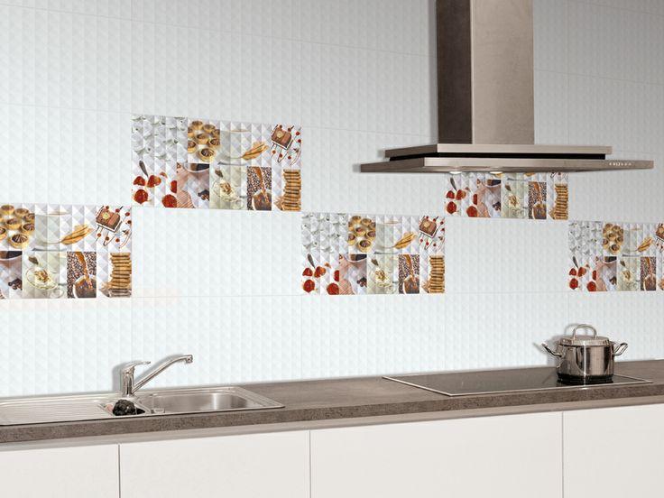 33 mejores im genes sobre azulejos para cocinas en for Guardas para cocina