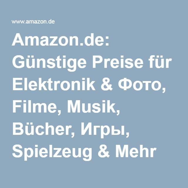 Amazon.de: Günstige Preise für Elektronik & Фото, Filme, Musik, Bücher, Игры, Spielzeug & Mehr