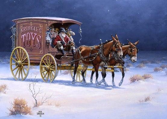 "The Toy Wagon""  by Artist, Jack Sorenson."