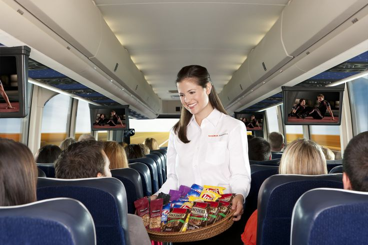 Lux Bus America bus amenities #travel #transportation #luxbusamerica
