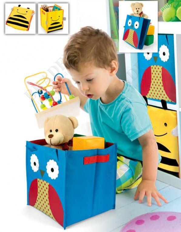 Короб для хранения «ПЧЕЛКА» АРТИКУЛ: DE 0230 В детской Вашего малыша не хватает места? Не знаете, куда деваться от большого количества игрушек? Справиться с недостатком площади Вам поможет квадратная коробка для хранения «ПЧЕЛКА» или «СОВА»!  • Красочная и вместительная коробка размером 26.5*28*28 см станет настоящим помощником в уборке детской спальни. Внутри можно хранить самые разнообразные вещи: от игрушек до одежды. • Коробка для хранения отличается высоким качеством и имеет два…