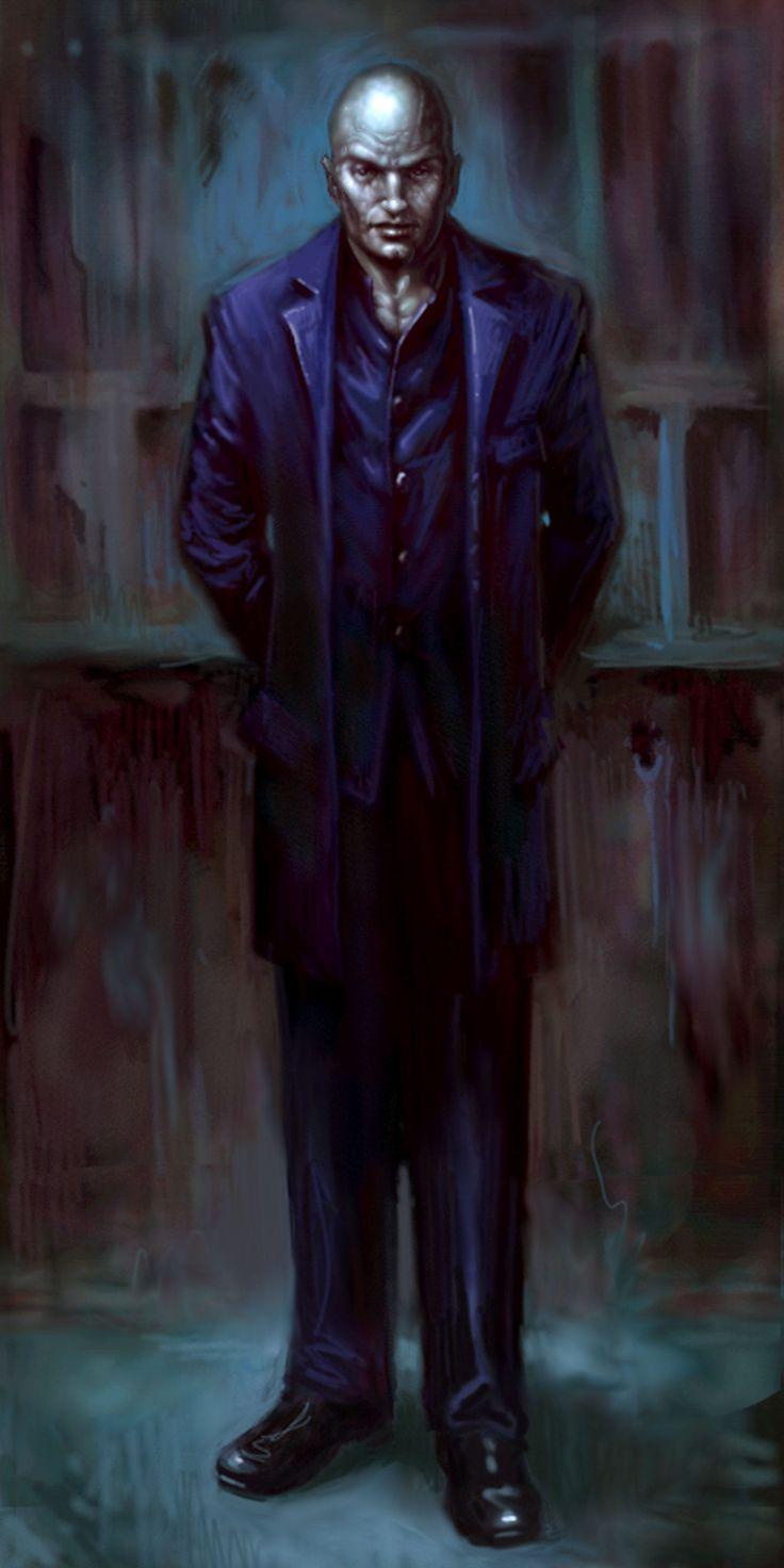 Strauss - concept art | Vampire the Masquerade: Bloodlines
