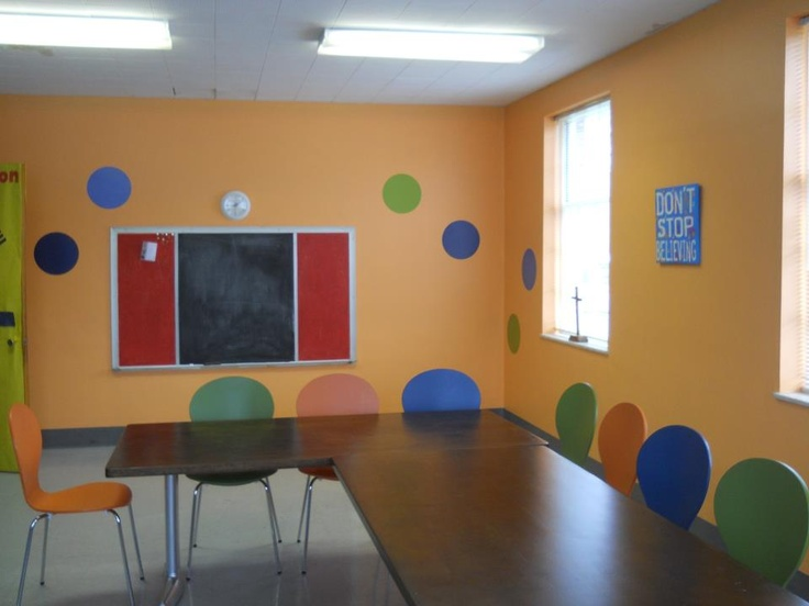 WallPops in a classroom! What a fun kids decor accent.: Fun Kids, Kid Decor, Photo, Kids Decor