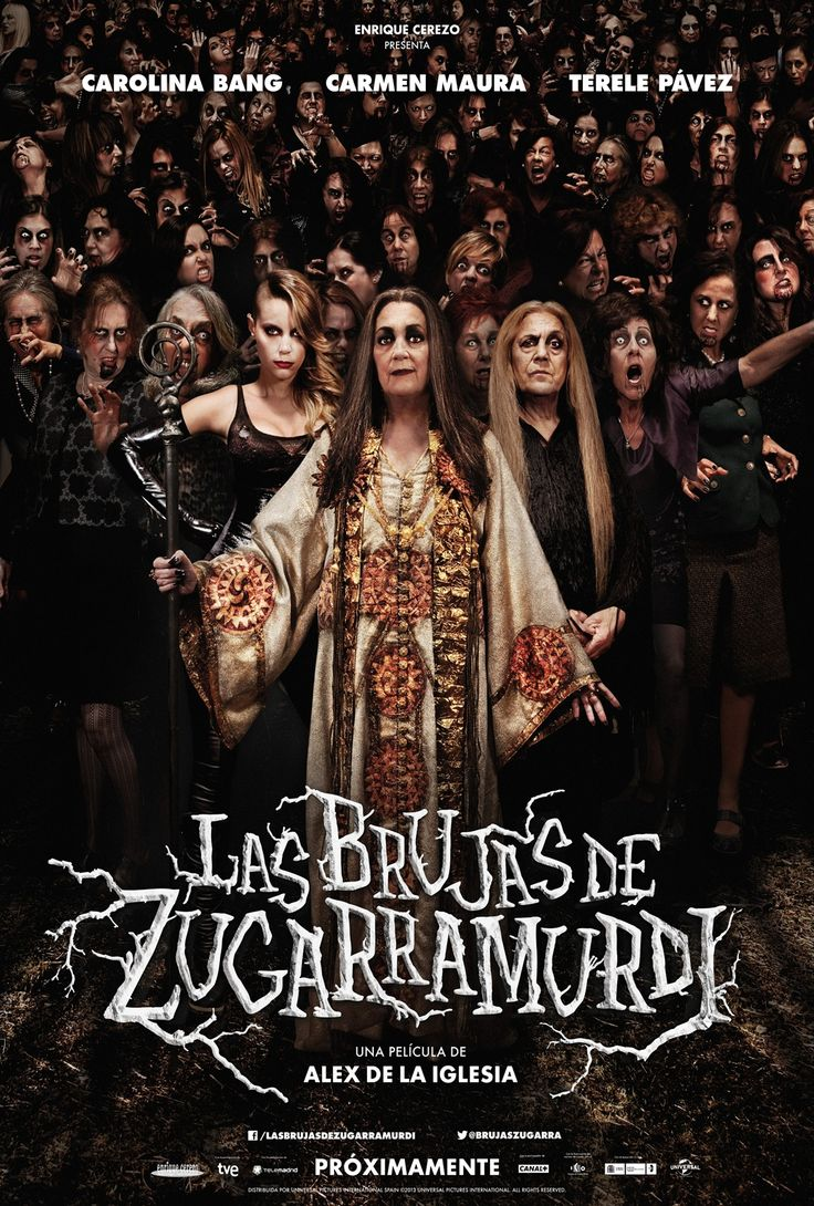 """Spanish Comedy about a group of witches who live in """"Zugarramurdi"""""""