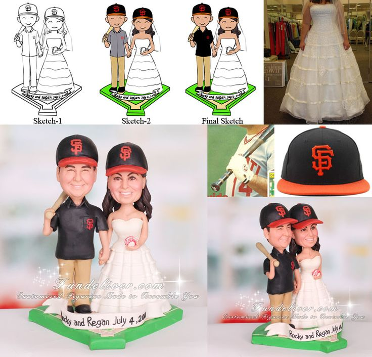 15 Best Images About Chicago Cubs Party On Pinterest: 17 Best Images About BASEBALL WEDDING CAKE TOPPERS On