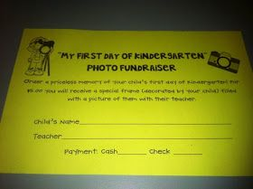 Here is a fabulous, fabulous, fundraiser thought up by my creative principal. At Meet the Teacher day before school started, each parent r...