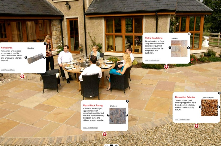 Tobermore build lasting relationships with their customers by surpassing their expectations providing a range of consultancy based landscape services as well as an on-site consultation on hard and soft landscaping solutions.