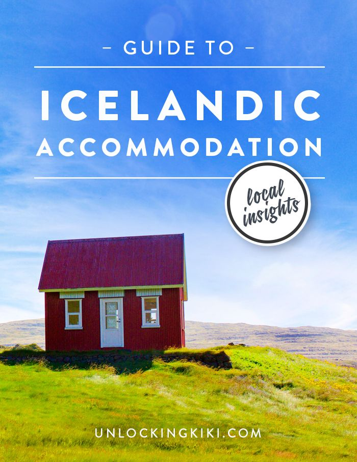 A Guide to the Accommodation in Iceland