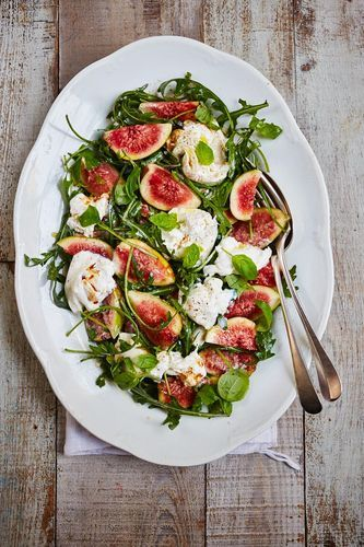 Good for detoxifying the system, figs add a touch of natural sweetness, providing a healthier alternative to processed sugars, which can be detrimental to your skin. This fig salad from Wendy Rowe's Eat Beautiful promises to have you feeling great in no time at all.