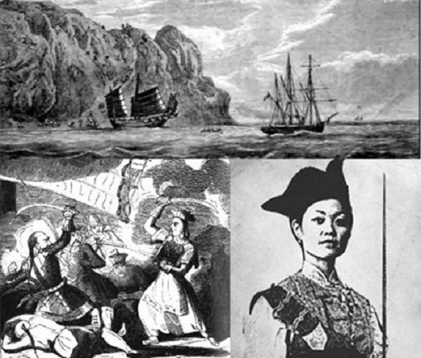 Ching Shih was a prominent Chinese pirate who terrorized the China Sea in the early 19th century. Her fleet numbered 1,500 ships and about 80,000 sailors. The Chinese navy itself lost 63 ships to the pirate fleet.   Undefeated, she became one of histories most powerful pirates.