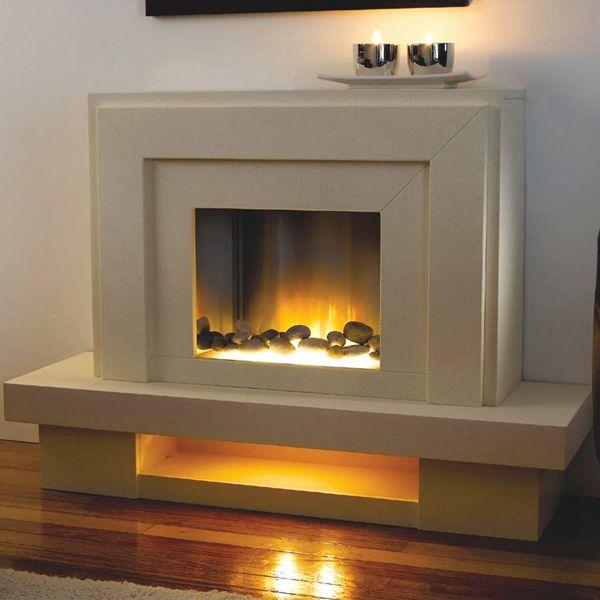 Flamerite Lazio Electric Fireplace Suite