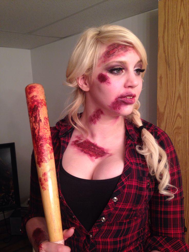 Zombie Hunter makeup