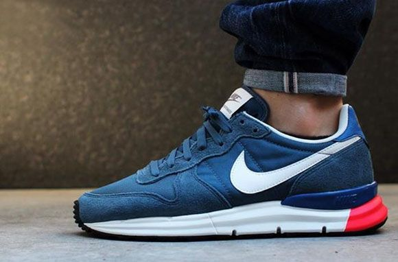 Nike Lunar Internationalist - New Slate/Military Blue