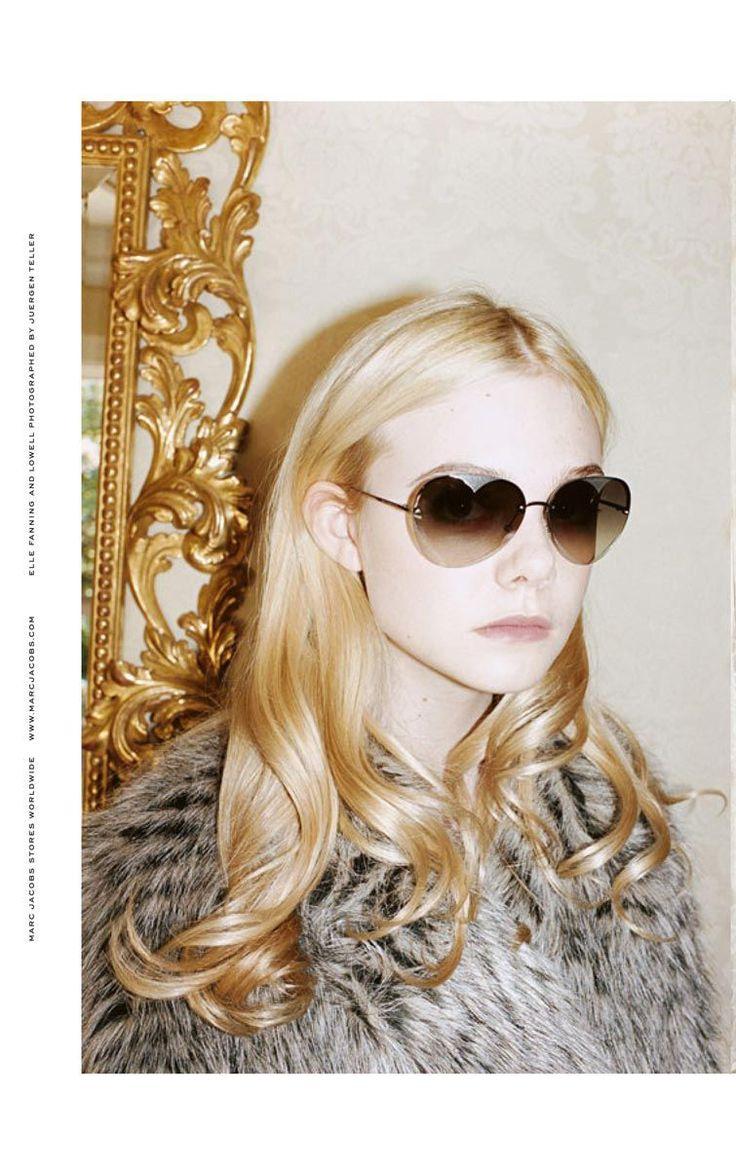 Elle Fanning by Juergen Teller for Marc Jacobs FW2011