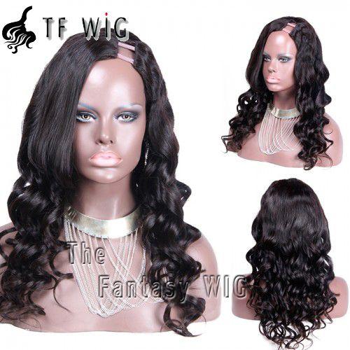 Charming Women Curly Human Hair U Part Wigs Free Shipping Cheap Human Hair Wig Charming Women Curly Human Hair U Part Wigs Free Shipping Cheap Human Hair Wig [UW4] - $146.99 : The Fantasy WIG.COM