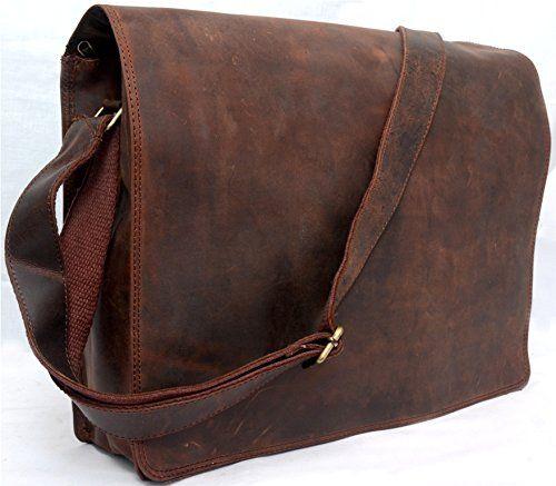 Gold Shop 16 inches Unisex Cross Shoulder Full Flap Laptop Leather Messenger Bag Satchel Dark Brown GOLDENSHOPPE http://www.amazon.com/dp/B00RO84DMM/ref=cm_sw_r_pi_dp_B9uQub13CWSGX