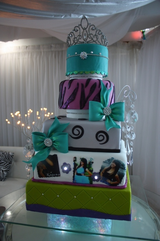 Extravagant Quinceanera Cake Quincea 241 Era Ideas And