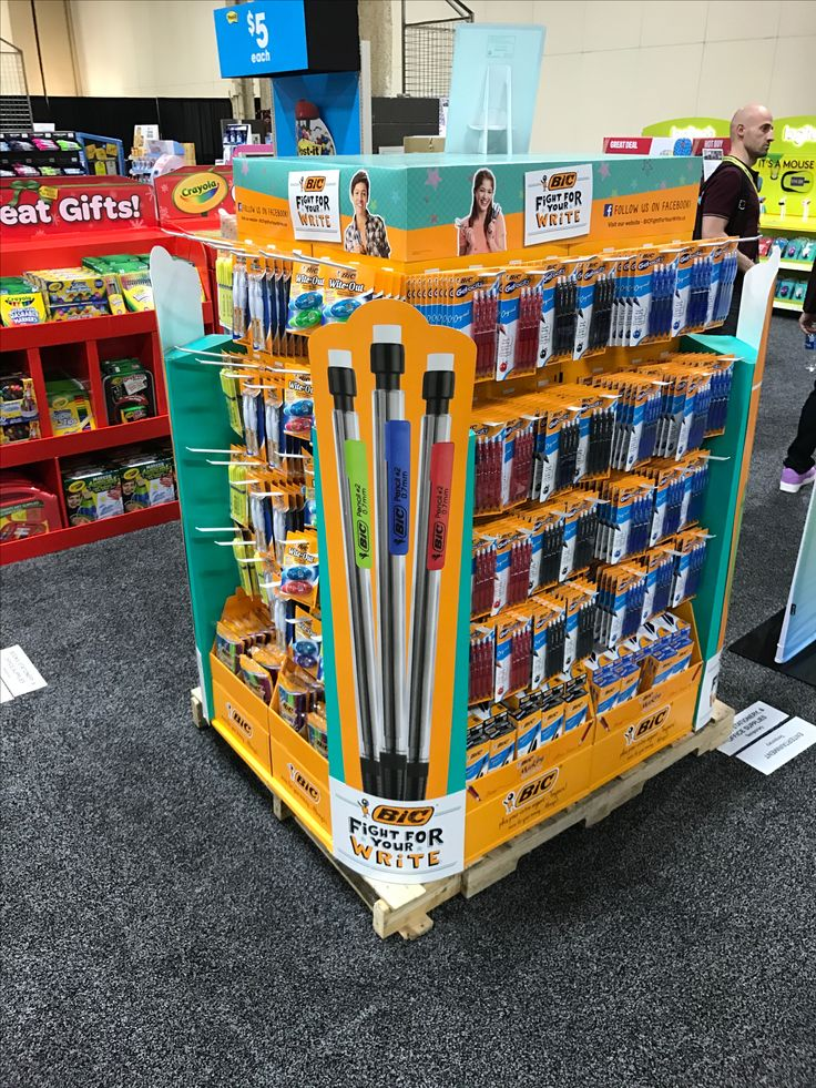 BIC Free Standing Unit - Looking to get noticed with your point of sale display in a busy, fast-paced retail environment? Increase confidence in your sales with www.popthis.com.au