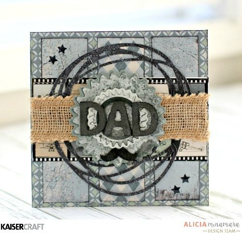 Kaisercraft Barber Shoppe Father's Day Cards