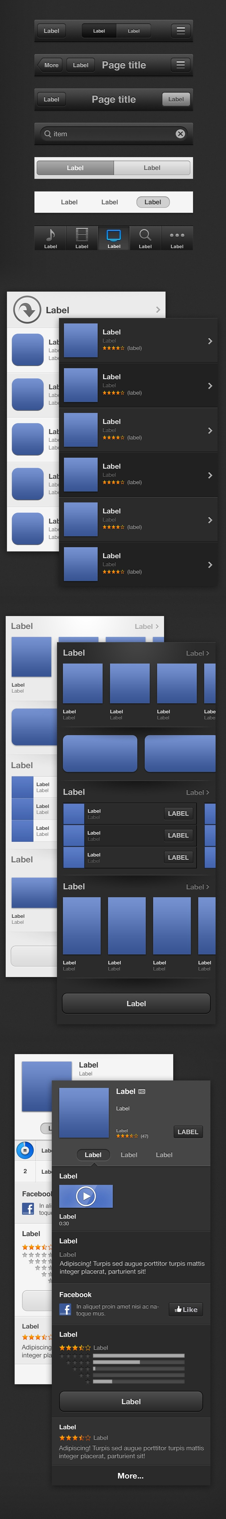 iOS 6, iTunes & Apple Store GUI / by Christophe Béghin