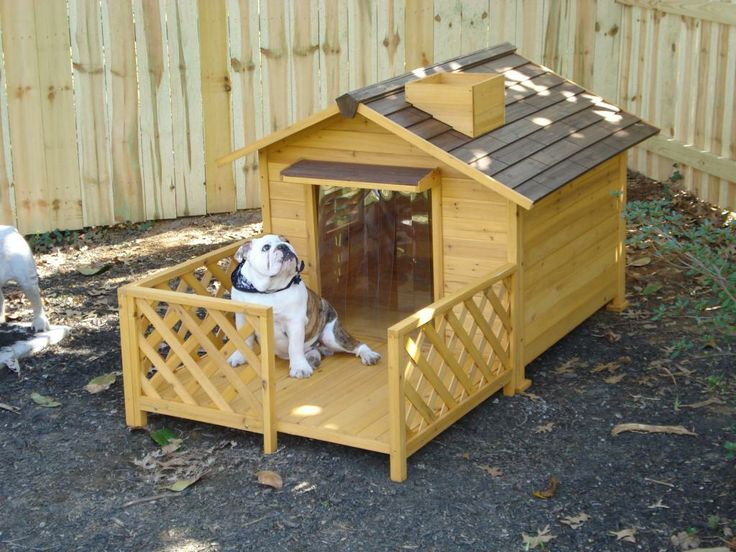 100 best images about dog on pinterest wooden dog house for Every dog needs a home