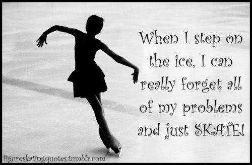 Everything is gone, it is just me and the ice.