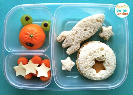 BentOnBetterLunches: UFO bentos... Out Of This World!