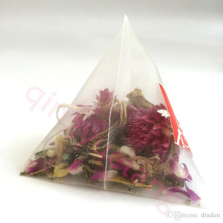 2017 6.5*8cm Biodegradable Non Woven Pyramid Tea Bag Filters Nylon Teabag Single String With Label Transparent Empty Tea Bags From Dindim, $40.19 | Dhgate.Com