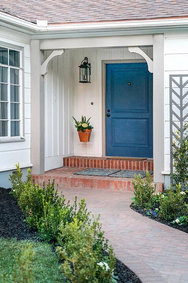 How To Add Columns And Corbels To A Front Entry House With Porch