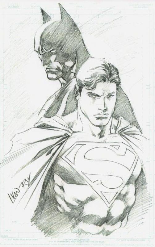 World's Finest by Ivan Reis Comic Art