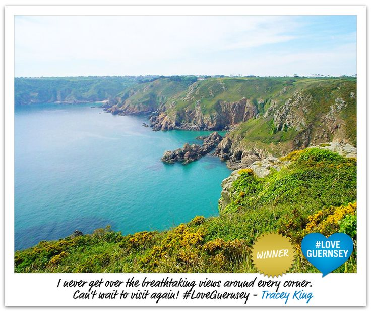 The winner of a holiday for two in our #LoveGuernsey campaign!