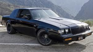 Buick Grand National GNX - The often forgotten, and usually underestimated cousin the Monte Carlo SS. Also, a  favorite unmarked car of the Connecticut State Police  In the late 80's...