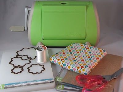 Cutting fabric with CuttleBug
