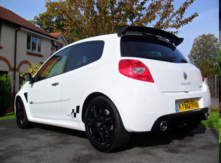 Clio III Cup Spoiler - Painted Only