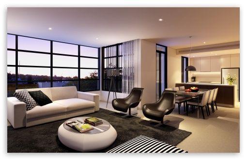 Living Room Design HD desktop wallpaper : Widescreen : High Definition : Fullscreen : Mobile : Dual Monitor