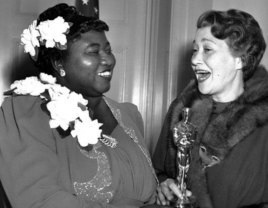 Happy Birthday, Hattie McDaniel, born today, June 10 in 1892! Hattie McDaniel — Film Pioneer. Hattie McDaniel was the first African-American person to win an Academy Award. She is pictured above accepting her Academy Award for Best Supporting Actress (from Fay Bainter) for her role as Mammy in Gone with the Wind...
